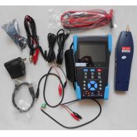 "3.5"" TFT-LCD CCTV IP Camera Tester , Optical Power Meter , TDR Test , Digital Multimeter"