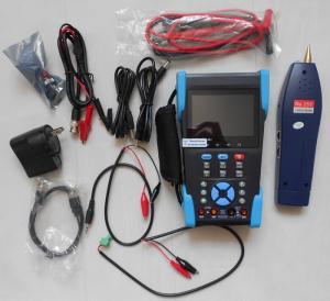 China 3.5 TFT-LCD CCTV IP Camera Tester , Optical Power Meter , TDR Test , Digital Multimeter on sale