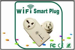 China Android / Apple cellphone ZigBee wireless control smart electric socket plug on sale