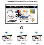 70 comunicación interactiva comercial de la web, software para la escuela o negocio