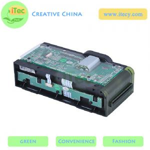 China motorized card reader/writer with Sam slot RS232 / USB interface ATM EMV card reader on sale