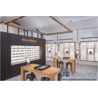 China 2017 new design of glasses shop special display showcase manufacturers in low-priced sales and professional wood working on sale