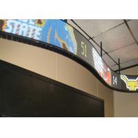 Bendable Module Flexible Led Display Panels 120° Veiwing Angle High Brightness