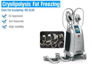 China Multifunction Cryolipolysis Body Slimming Machine , Fat Freezing Body Slimming Equipment on sale
