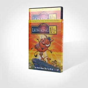 China wholesale 1/2The Lion King 1 disney dvd movies with slip cover case,accept paypal on sale