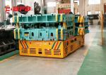 Indoor / Outdoor Trackless Transfer Cart Bogie Unlimited Running Distance