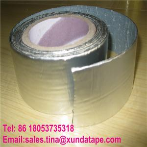 China Aluminum Coating Self Adhesive Roofing Sealing Tape for Building Waterproofing Material on sale