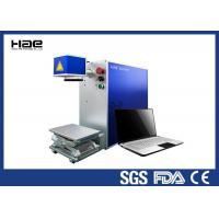 Portable Design Fiber Laser Marking Machine for Metal with CE FDA