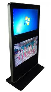 China Dual Screens 42 Inch Open Source Digital Signage Dual - Points Touch on sale