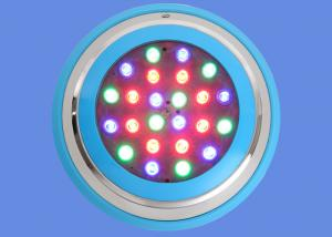 China Pool Underwater Led Lights 24w Waterproof High Brightness With Blue Case 50 - 60HZ on sale