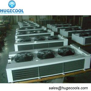China Double Side Evaporator Cold Room Air Cooler Power Steel Case Material on sale