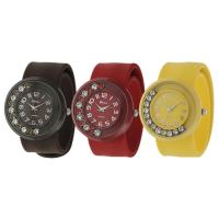 China sport wrist luxury pastel Kid's silicone slap Watch for swimming on sale