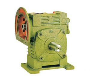 China Single Reduction Worm Gear Reducer / Low Noise Speed Reducer Gearbox WPW series on sale