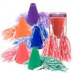 Mégaphone en plastique Cheerleading de 6,5 pouces, les jouets en plastique de beaux enfants