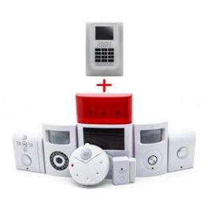 China Wireless Integrated Security Systems GMS Motion Sensor LCD monitor Alarm with APP CX809S on sale