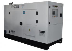 China Silent Type White Cummins Diesel Generators Standby Power Solution 50HZ / 60HZ on sale