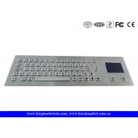 China 64 Keys Industrial Keyboard With Touchpad Laser Engraved Graphics PS/2 Or USB Interface on sale