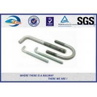 SGS Stainless Steel Bolts Galvanised Bent Anchor Bolts For Fastenings