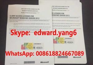 China Server 2012 Cal Genuine /Original License Key Code Coa Activation Label Sticker Cert on sale