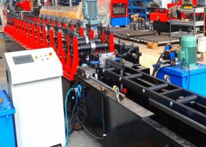 China Metal Strut Channel Roll Forming Machine , Gear Box Driven Frame Roll Former on sale