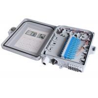 12 Ports Fiber Optic Termination Box 22.2 * 20.4 * 5.4cm Waterproof Junction Box