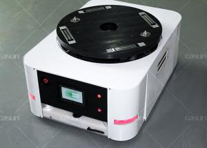 China Free Routing AGV Guided Vehicle With High Accuracy 500kg Load Capacity on sale