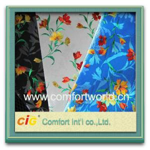 China Waterproof Eco friendly Auto Upholstery Fabric / pretty printing Pp Non woven Fabric on sale
