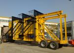 Industrial Batch Type Hot Mix Plant / Portable Asphalt Mixing Plant 80 - 180t/H Drying Capacity