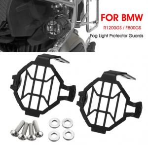 China Auxiliary Fog Light Frame Protector Guards Lamp Cover For BMW R1200GS F800GS on sale