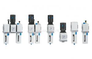 China Modular Air Source Treatment Unit Air Filter / Air Regulator / Air Lubricator on sale