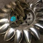 3- Phase Alternator Pelton Turbine Generator Horizontal Hydro Impulse Turbine