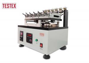 China JIS Standards Automatic Gakushin Rubbing Fastness Tester , Textile Lab Equipment TESTEX on sale