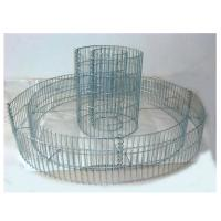 Welded Gabion Raised Garden Beds in Double Ring, Stone Cages, Gabion Baskets