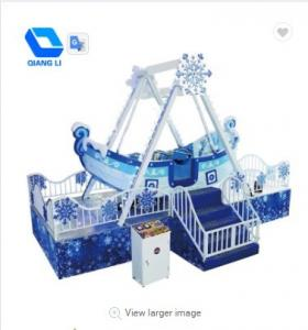 China Customized Portable Carnival Rides , Amusement Ride Indoor Pirate Ship Ride on sale