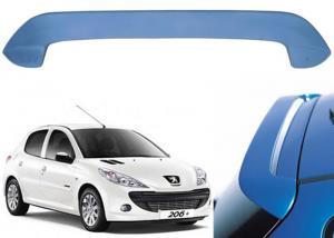 China Professional PEUGEOT 206 Hatchback Car Roof Spoiler 136*12*42cm Size on sale