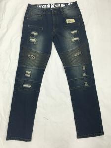China Spring And Summer Womens Tapered Leg Jeans , Womens Stretch Straight Jeans on sale