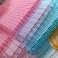 UV-coated Soundproof Greenhouse Polycarbonate Hollow Sheet Environmental Friendly