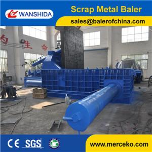 China Waste Car Bodies Scrap Car Baler For All kinds of Solid Metal Scrap Y83/T-400 on sale