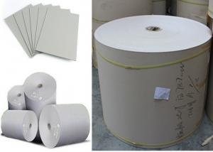 China Good Stiffness Professional Grey Paper Cardboard Roll for Book Binding supplier