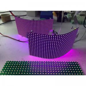 China P8mm Flexible Led Screen Smd Module / Video Creative Background Foldable Led Display on sale