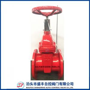 China Non-rising gost gate valve DN100 on sale