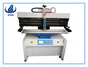 China Semi auto Screen Printer for SMT production line 1.2m , PCB stencil printer on sale