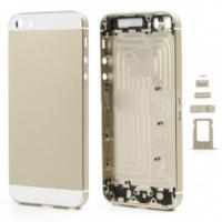 for iPhone 5s High quality Full Housing Faceplates Buttons SIM Card Tray - Champagne Gold