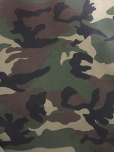 China Polyester camouflage printing 600D fabric with PU or PVC coating for uniform on sale