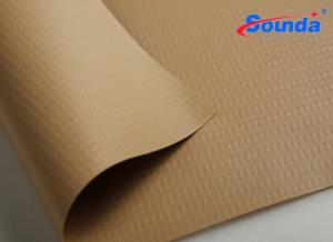 China High Glossy eco - solvent truck corver Polyester PVC Tarpaulin Fabric with 480g water-proof on sale