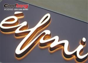 China LED open signs Epoxy Resin Letters Advertising Letter on sale