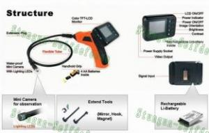 Quality Wireless Snake Inspection Camera Video with 2.5 inch monitor E-01 for sale