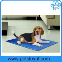 Re-useable self-cooling nontoxic dog cooling pad pet gel bed mat China Factory