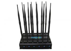 China 315MHz / 433MHz Mobile Phone Network Jammer 30 Watt With Good Cooling System on sale