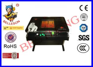 China Classic Sticker Wine Brand Coffee Table Arcade Machine Tempering Glass on sale